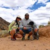 That afternoon we hiked the Rinconada Canyon section of Petroglyph National Monument. My sister and brother-in-law gave me a tiny tripod for my birthday. I think they weren't sure if I liked it, but I used the hell out of it on this trip! We got lots of family portraits using it and Nikon's remote app on my phone.
