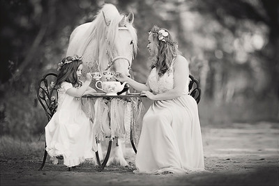 2017 Unicorn Teacup Madeline edited by Michelle_7777 BW