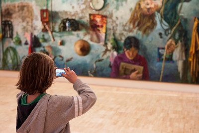 Essl museum is very engaged to get a young audience.  I think this one does show that, not only young audience does come, but also does seam to appreciate what they see. This one is only one sample.