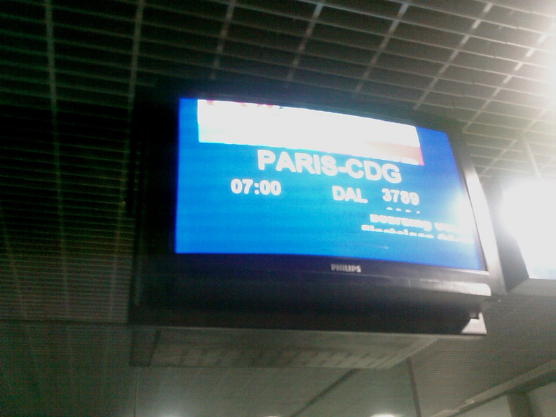 Travel - From MLH to CDG <br /> First step of the travel : Mulhouse to Paris.