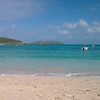 St Barth 2008 - 14th day <br /> Back to the normal relaxing routine today. Hot and a bit windy, 25°C at 07:00 in the morning, 29°C during the day, 27°C in the ocean. Too cool :)<br /> <br /> Also back to St Jean (east) Beach this morning.<br /> <br /> Again, simple dinner at Le Bouchon, other places just too crowdy because of St Valentin's Day!