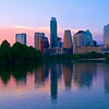 Skyline Sunset from the Boardwalk - Austin, Texas