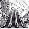 DFW Airport Watercolor #2