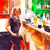 Drink and Click Watercolor #5