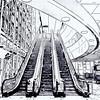 DFW Airport Watercolor #1