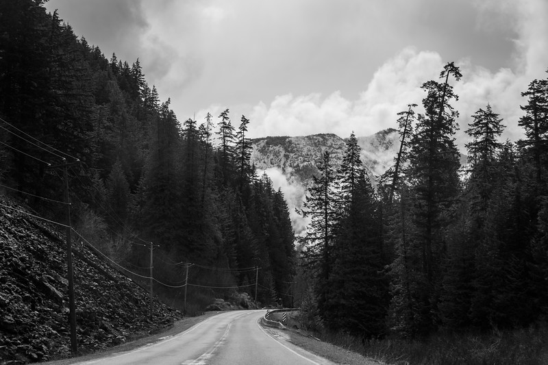 A road into the mountains