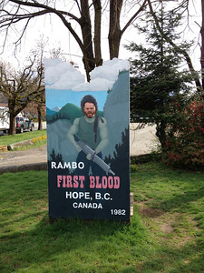 Hope BC - Where Rambo was filmed :)