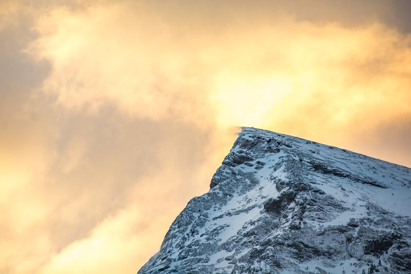 Drift off the mountain