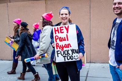 Women's March on Washington, Saturday January 21st 2016