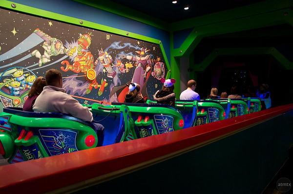 Astro Blaster, Disneyland