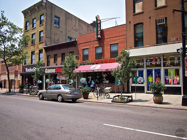 My Little Pizzeria, Street scape - Brooklyn, New York