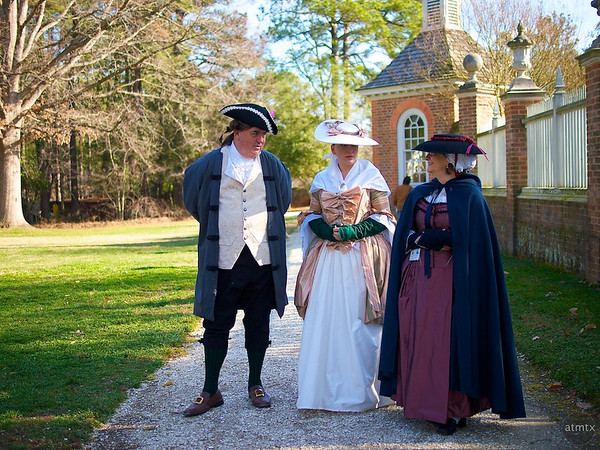 In Costume, Governor's Palace - Williamsburg, Virginia