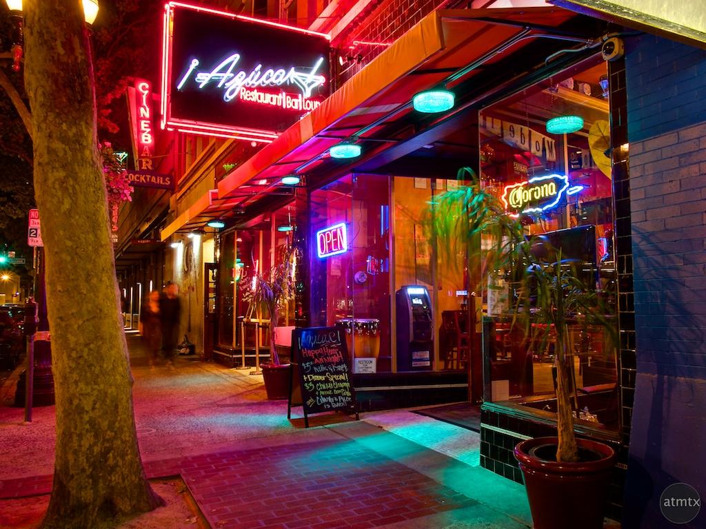Neon and Color at Azucar - San Jose, California