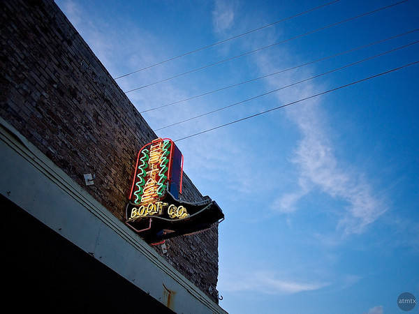 Heritage Boot Co. Neon, SoCo - Austin, Texas