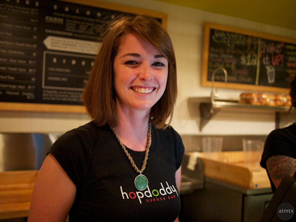 Katie at Hopdoddy