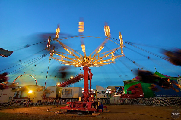 Blue Hour Blur, Rodeo Austin