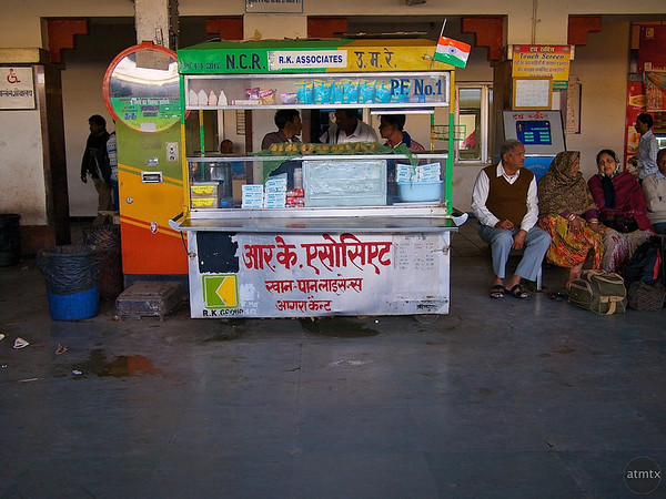 Food Vendor #1, Agra Cantt Station - Agra, India
