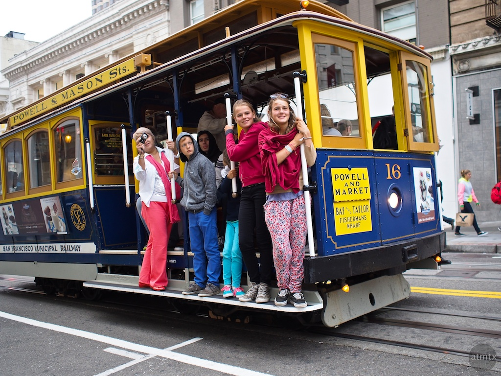 Being Tourists and Enjoying it - San Francisco, California