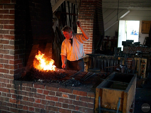 Blacksmith, Colonial Williamsburg - Williamsburg, Virginia