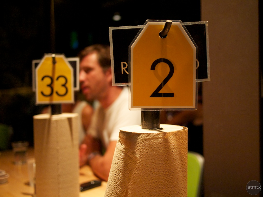 Hopdoddy Restaurant, Numbers