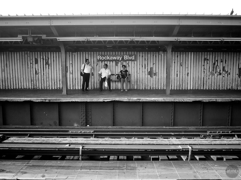Rockaway Blvd Station - Ozone Park, New York
