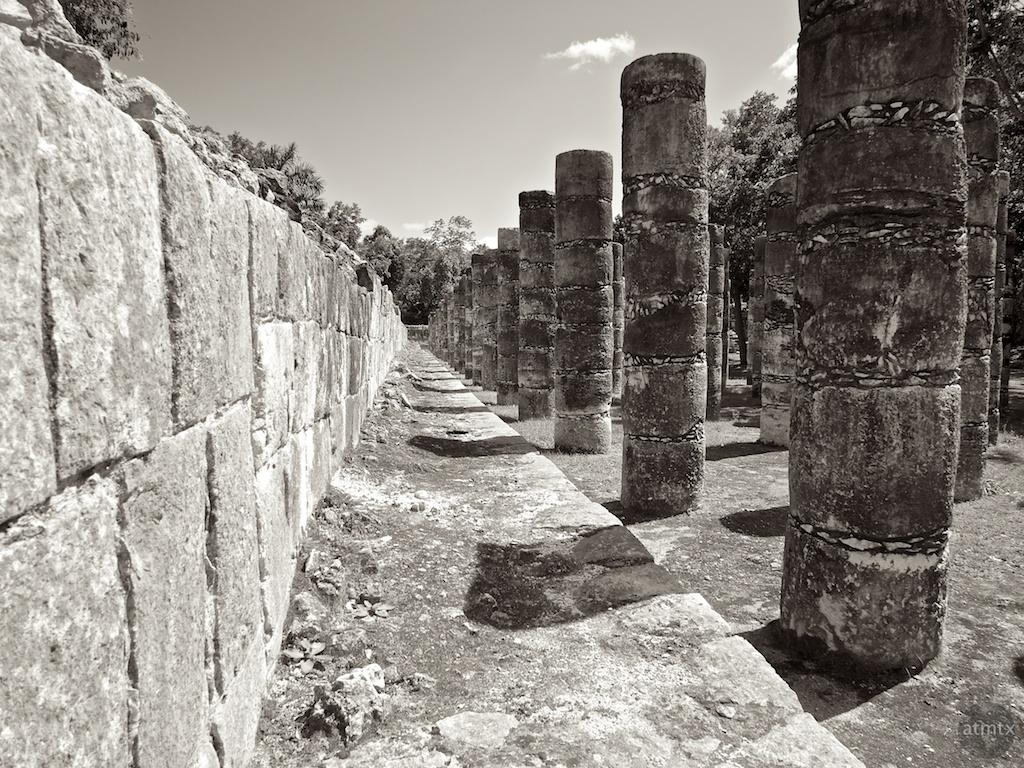 Stone Pillars, Chichen Itza - Yucatan, Mexico