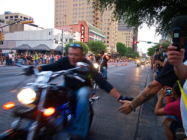 Passing Shake, ROT Rally Parade - Austin, Texas