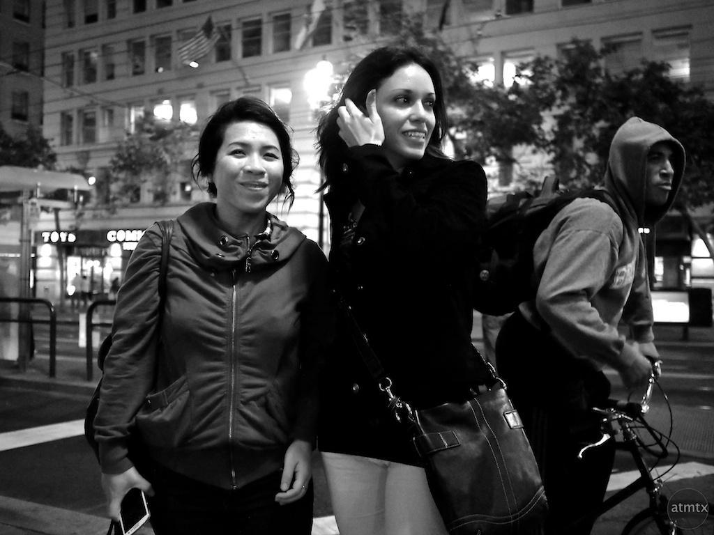 Friendly Folk, Market Street - San Francisco, California