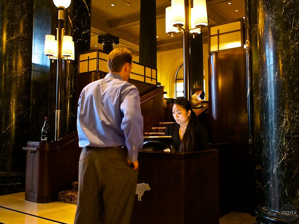Making Reservations, Westin St. Francis - San Francisco, California