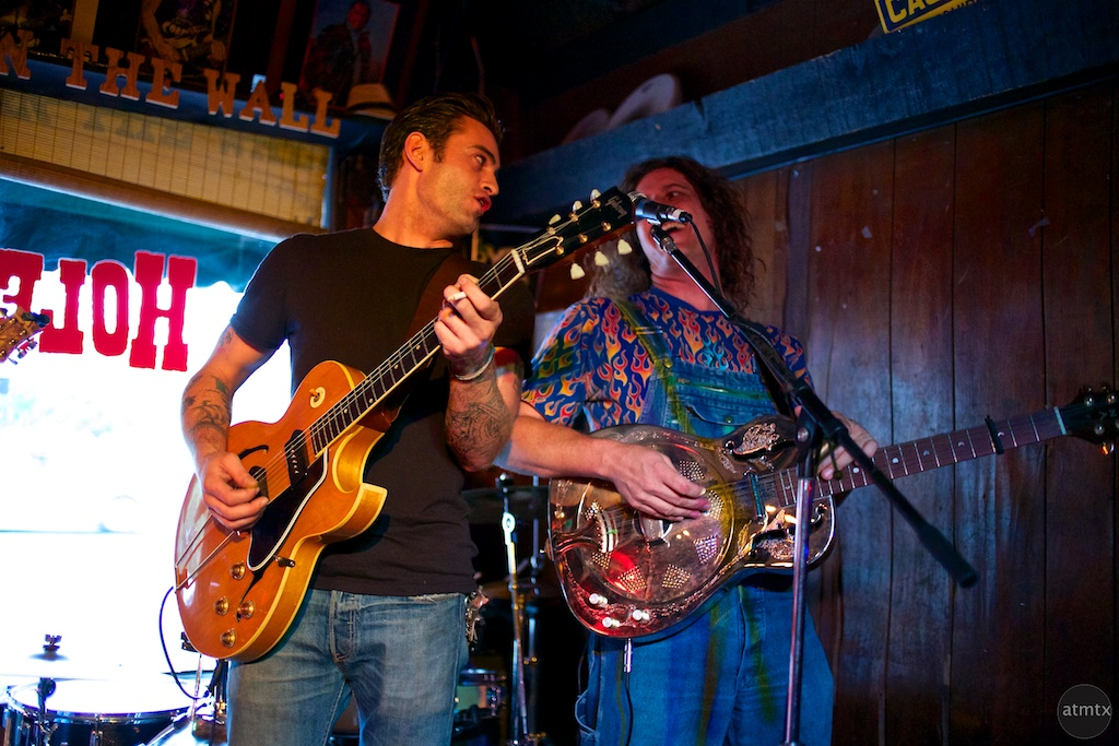Rio and Steve of Red Dirt Rebellion - Austin, Texas