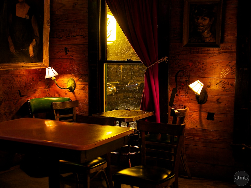 Warm and Eclectic, Spider House - Austin, Texas
