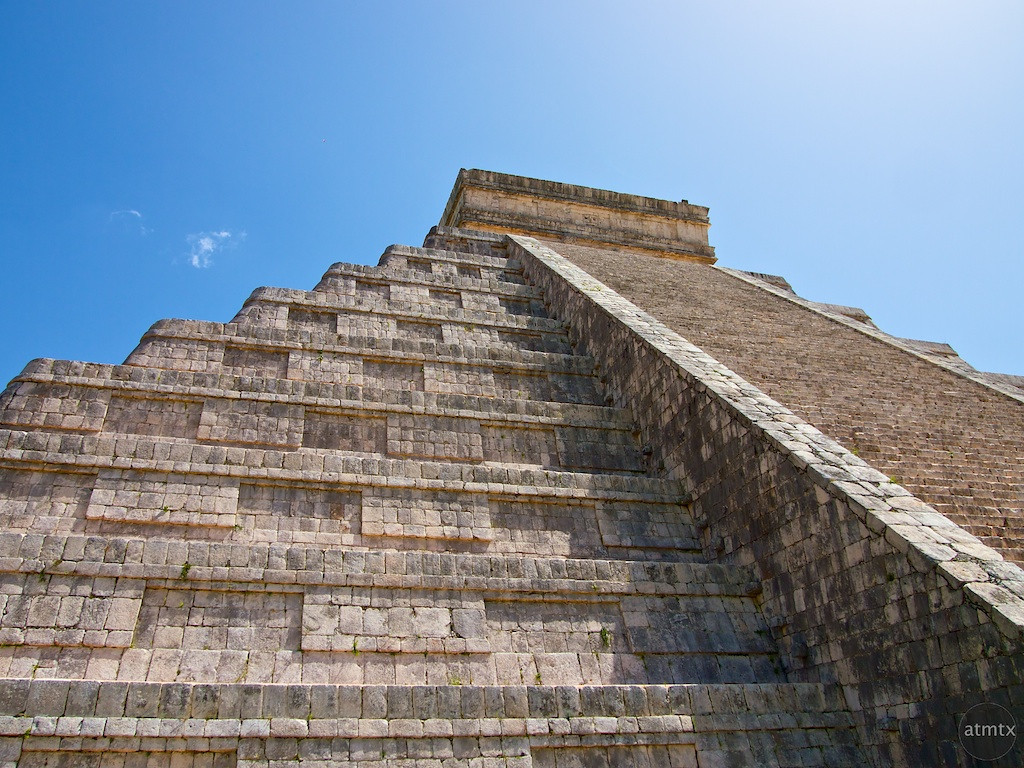 Interlocking Stonework, Chichen Itza - Yucatan, Mexico