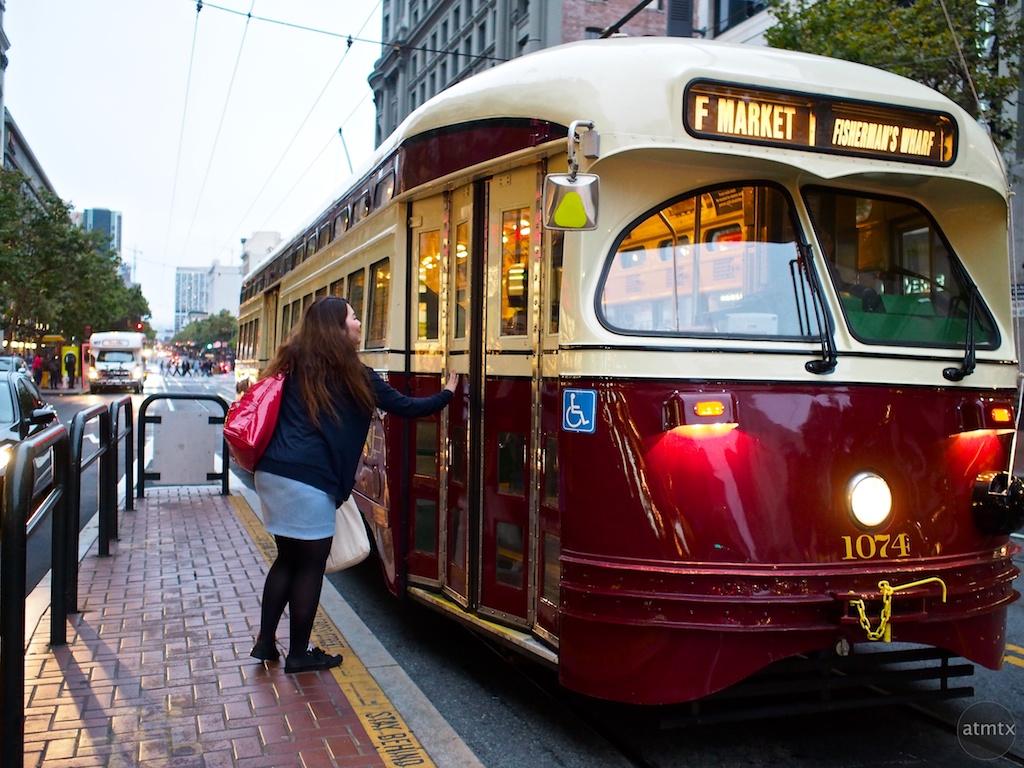 Missing the Tram - San Francisco, California