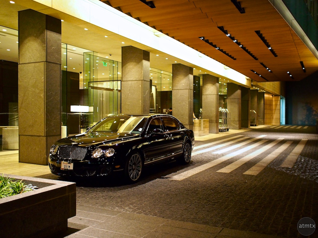 Parked at the St. Regis - San Francisco, California