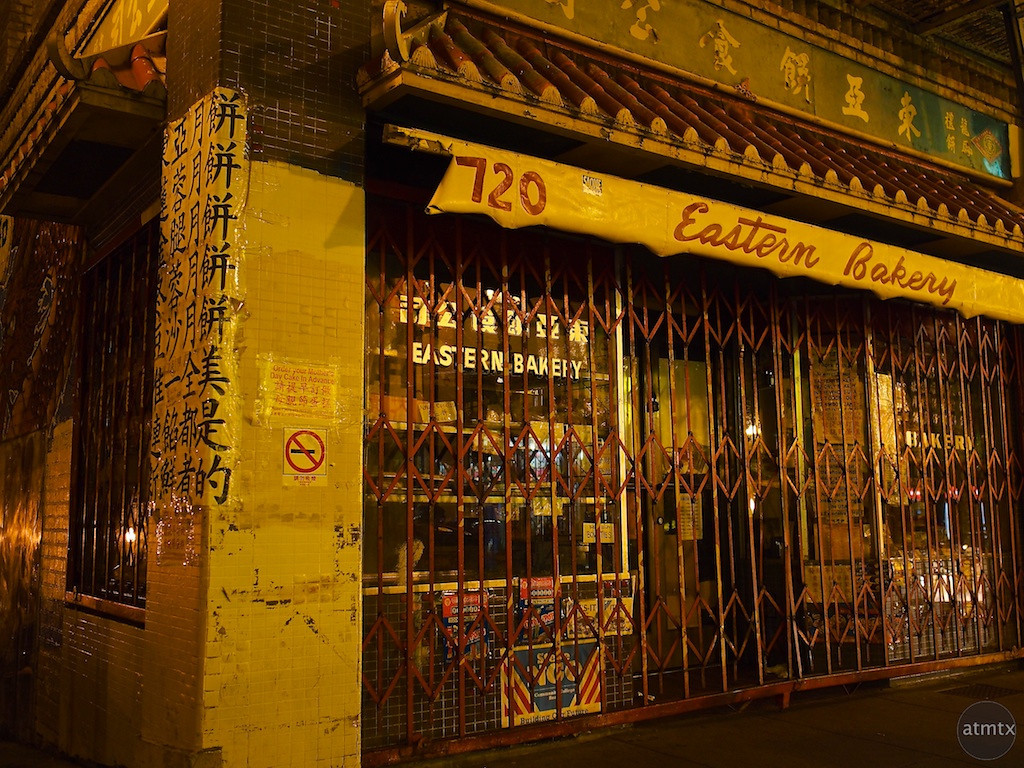 Closed, Eastern Bakery in Chinatown - San Francisco, California