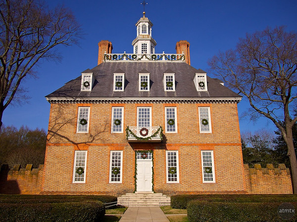 Governor's Palace, Colonial Williamsburg - Williamsburg, Virginia