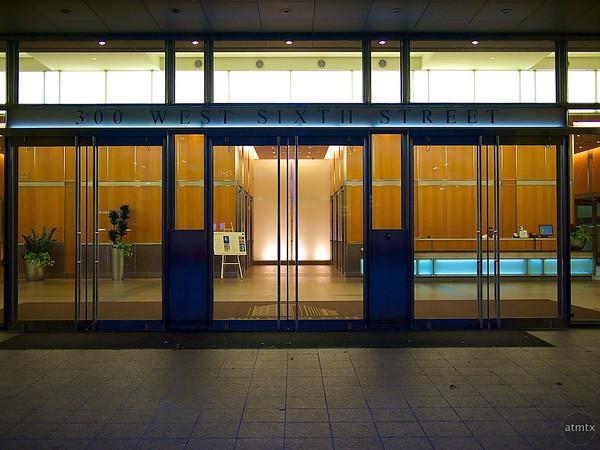 Lobby Glow, 300 West Sixth Street - Austin, Texas