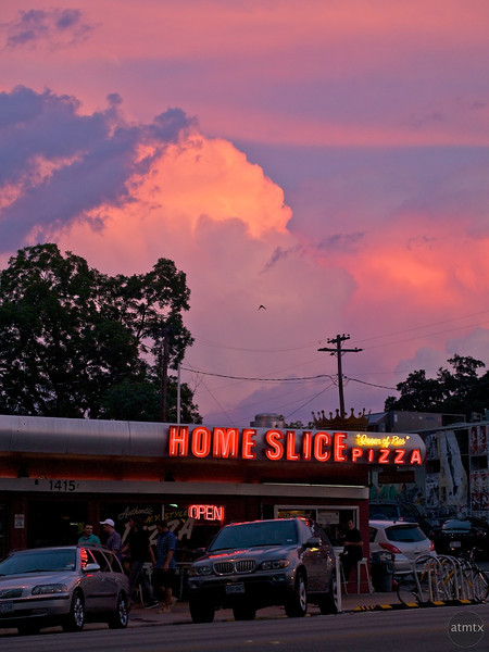 Home Slice Sunset - Austin, Texas