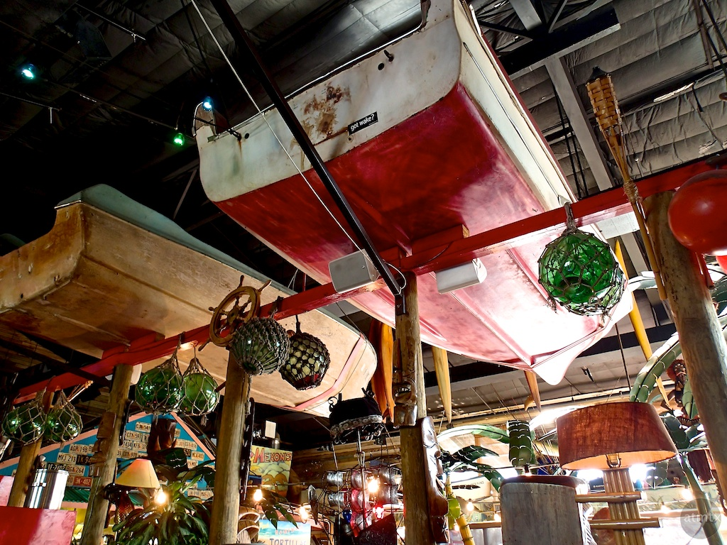 Dry Dock, Hula Hut Restaurant - Austin, Texas