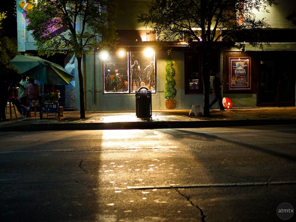 Esther's Follies Glow, 6th Street - Austin, Texas