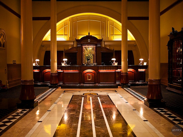 Front Desk, Driskill Hotel - Austin, Texas