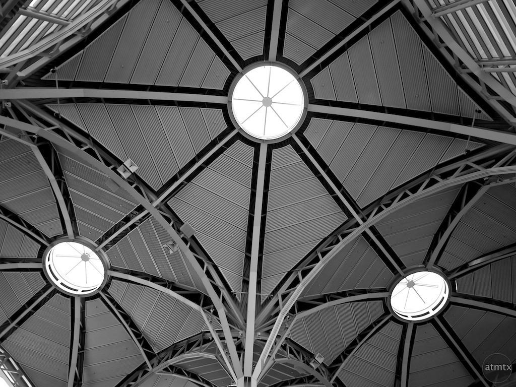 Ceiling Detail #2, Reagan Washington National Airport - Washington DC