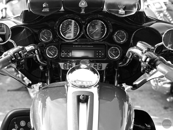 Harley Cockpit, 2012 ROT Rally - Austin, Texas
