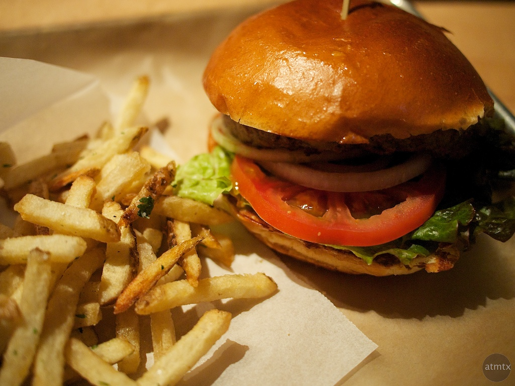 Hopdoddy Burger and Fries