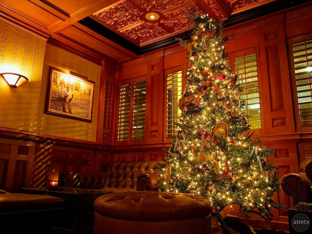2012 Driskill Christmas Tree - Austin, Texas