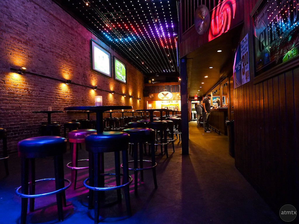 Bat Bar Interior, 6th Street - Austin, Texas
