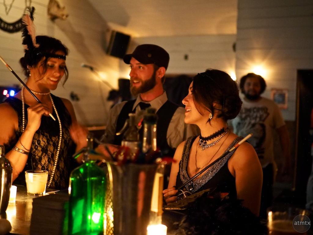 20s style, Javalina Bar - Austin, Texas