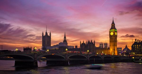 Westminster at Dusk (London, United Kingdom 2016)