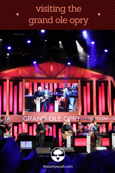 Grand Ole Opry Tickets >> A Night At The Grand Ole Opry In Nashville This Is My South