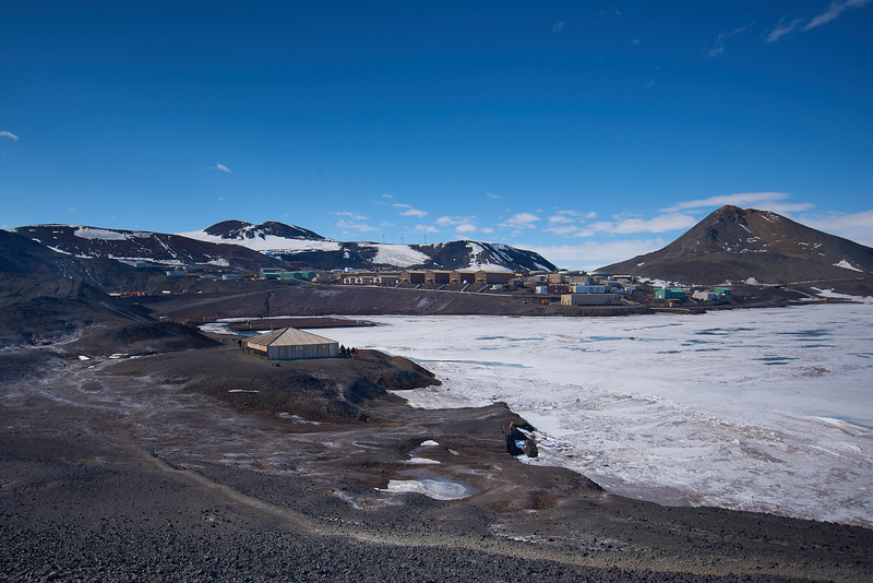 McMurdo Station from Hut Point